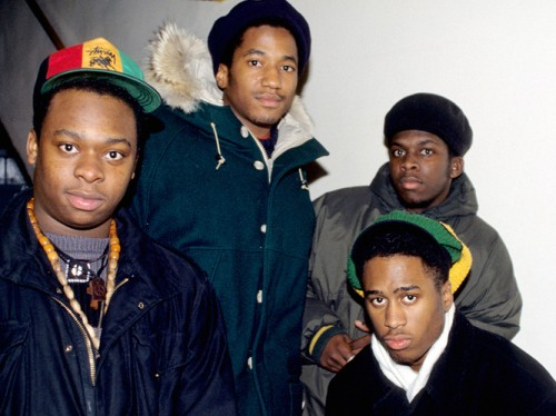 A-Tribe-Called-Quest-in-the-early-days.-From-left-to-right-Jarobi-White-Q-Tip-Ali-Shaheed-Muhammad-and-Phife-Dawg-500x374