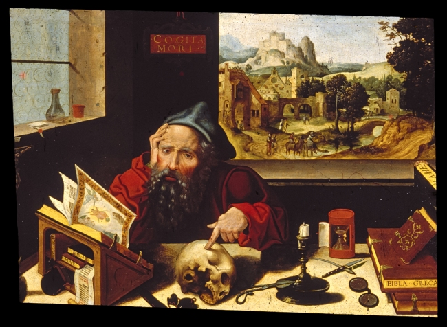 Workshop_of_Pieter_Coecke_van_Aelst,_the_elder_-_Saint_Jerome_in_His_Study_-_Walters_37256.jpg